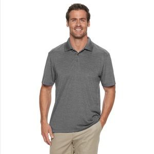 Haggar Shirts - Haggar Cool 18 Space Dye Polo